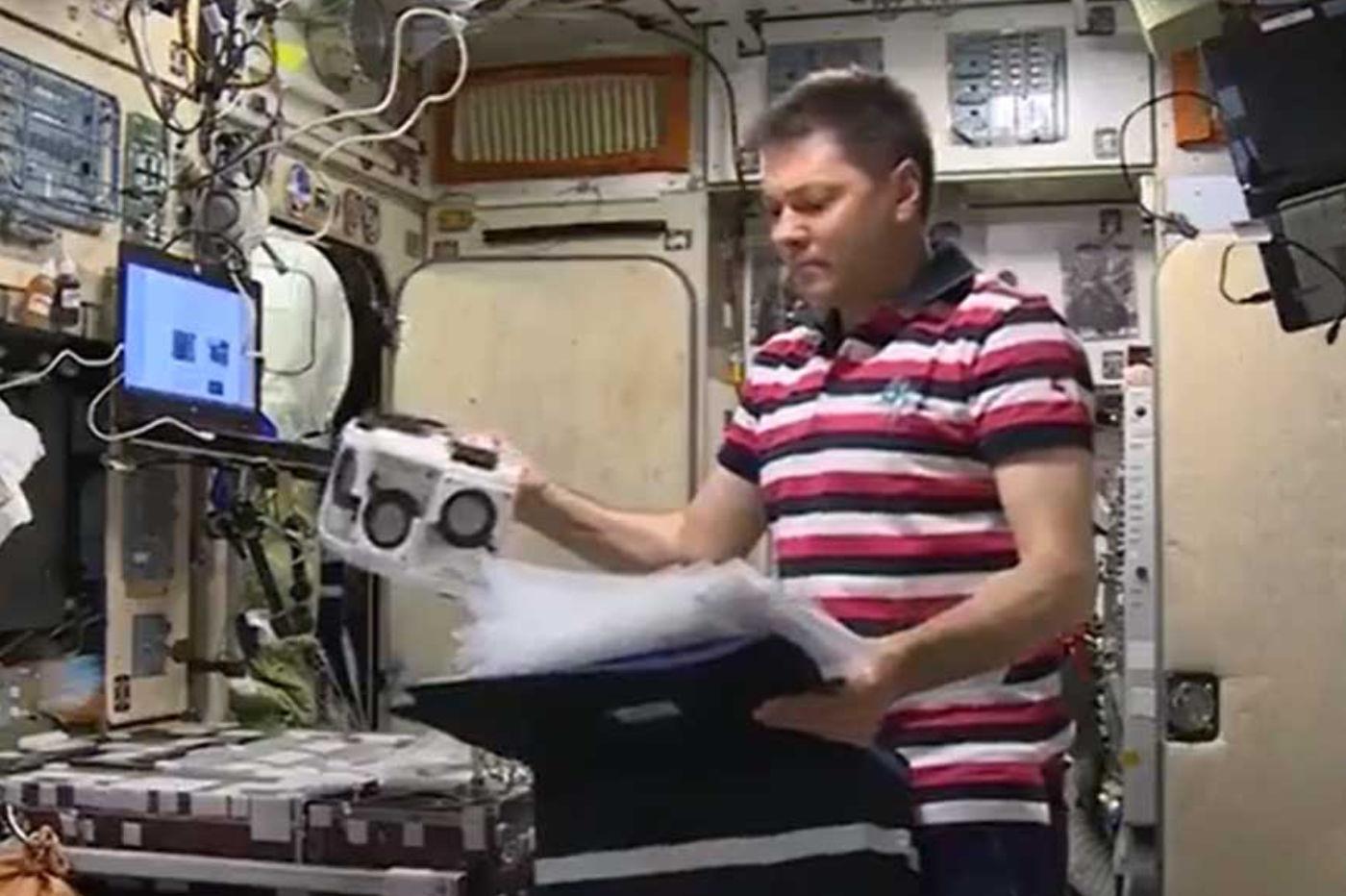 Des tissus humains imprimés depuis l'ISS