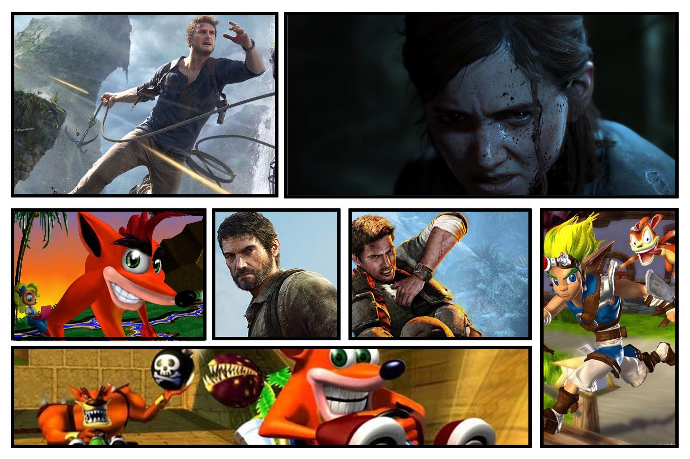 Jeux Naughty Dog