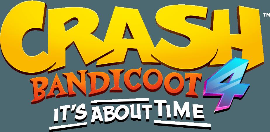 Logo Crash Bandicoot 4 Il est temps