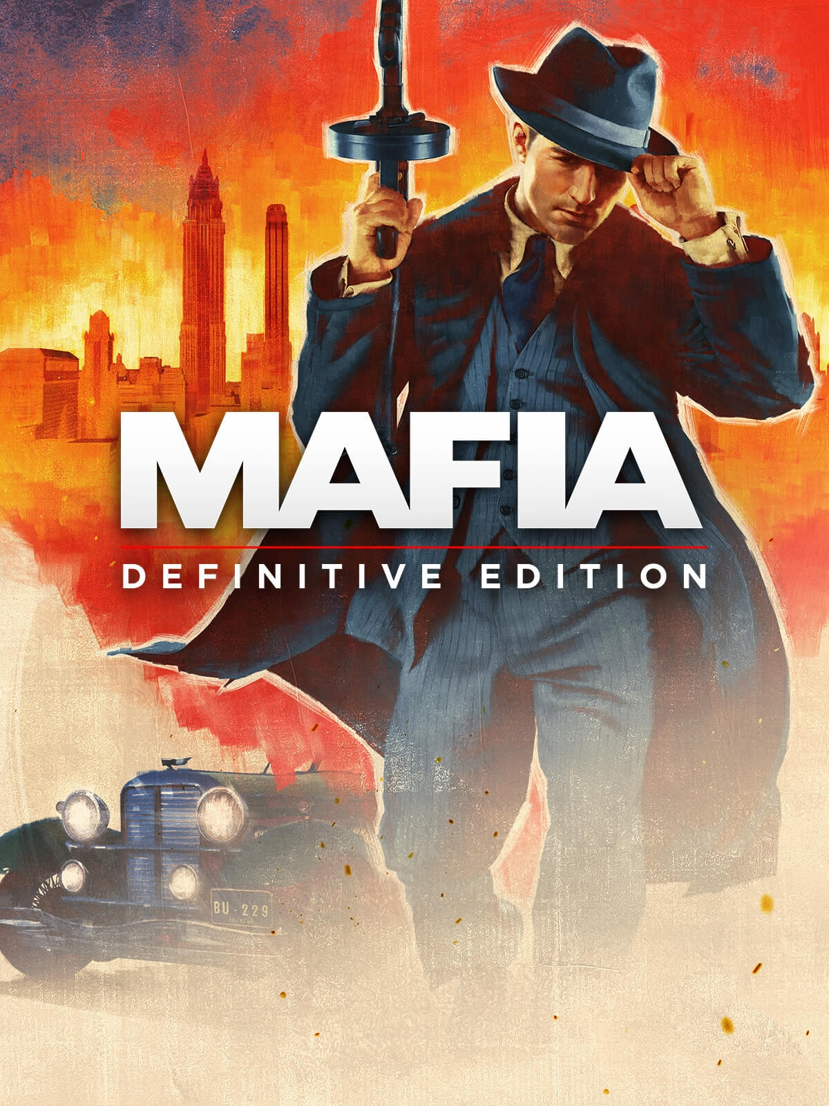 Jaquette Mafia Definitive Edition
