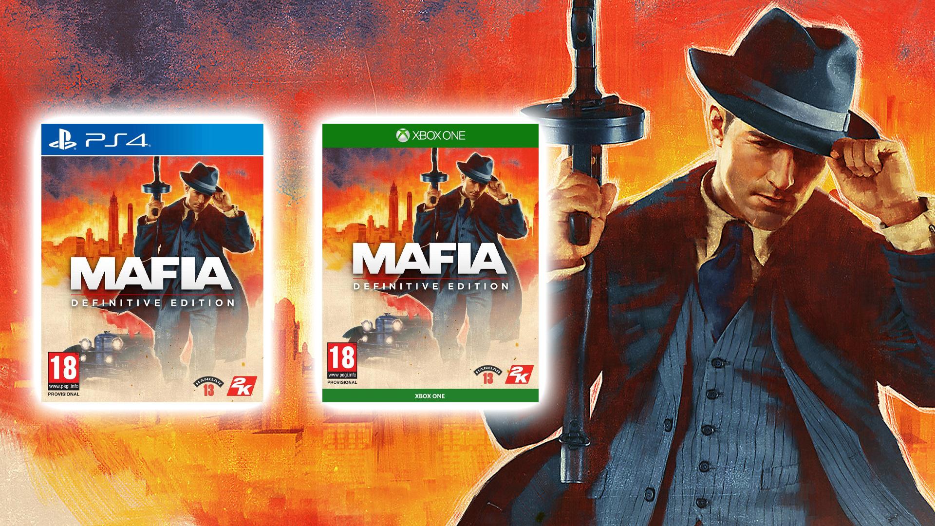 Précommande Mafia Definitive Edition - Standard