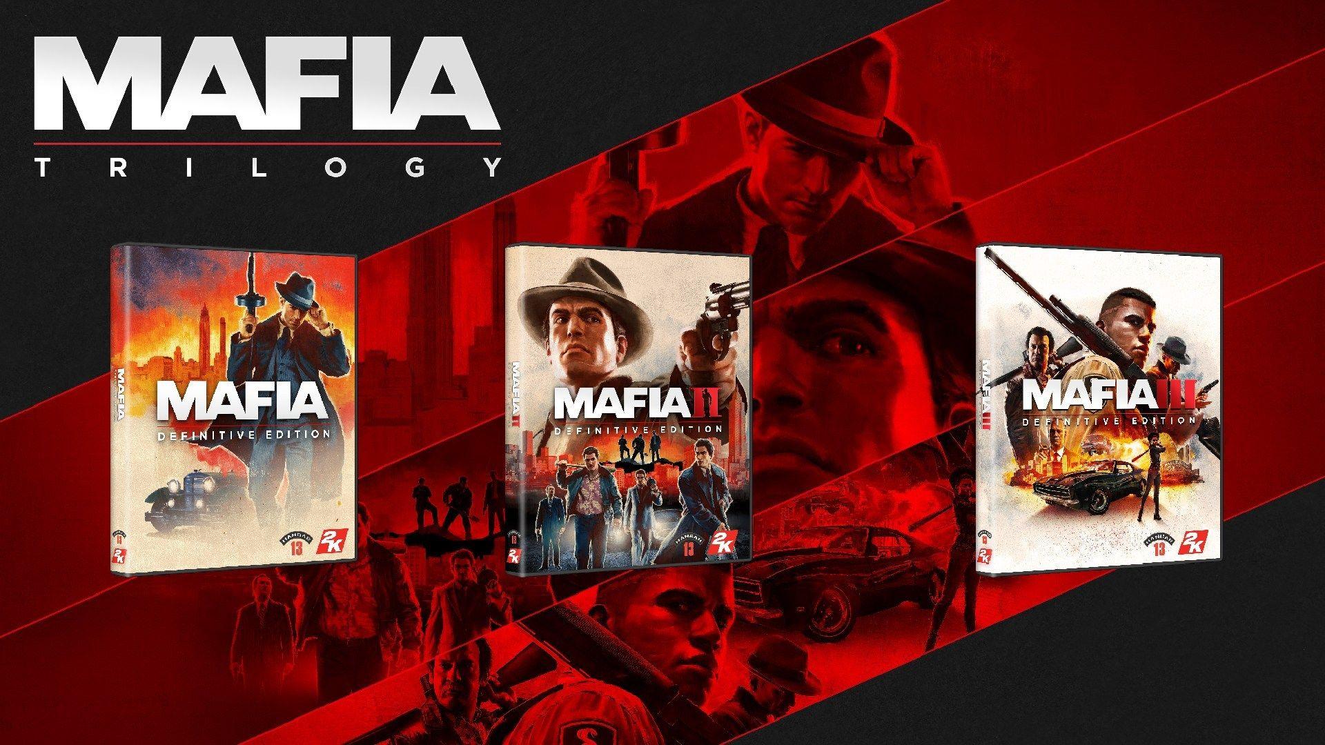 Précommande Mafia Trilogy - Standard Edition