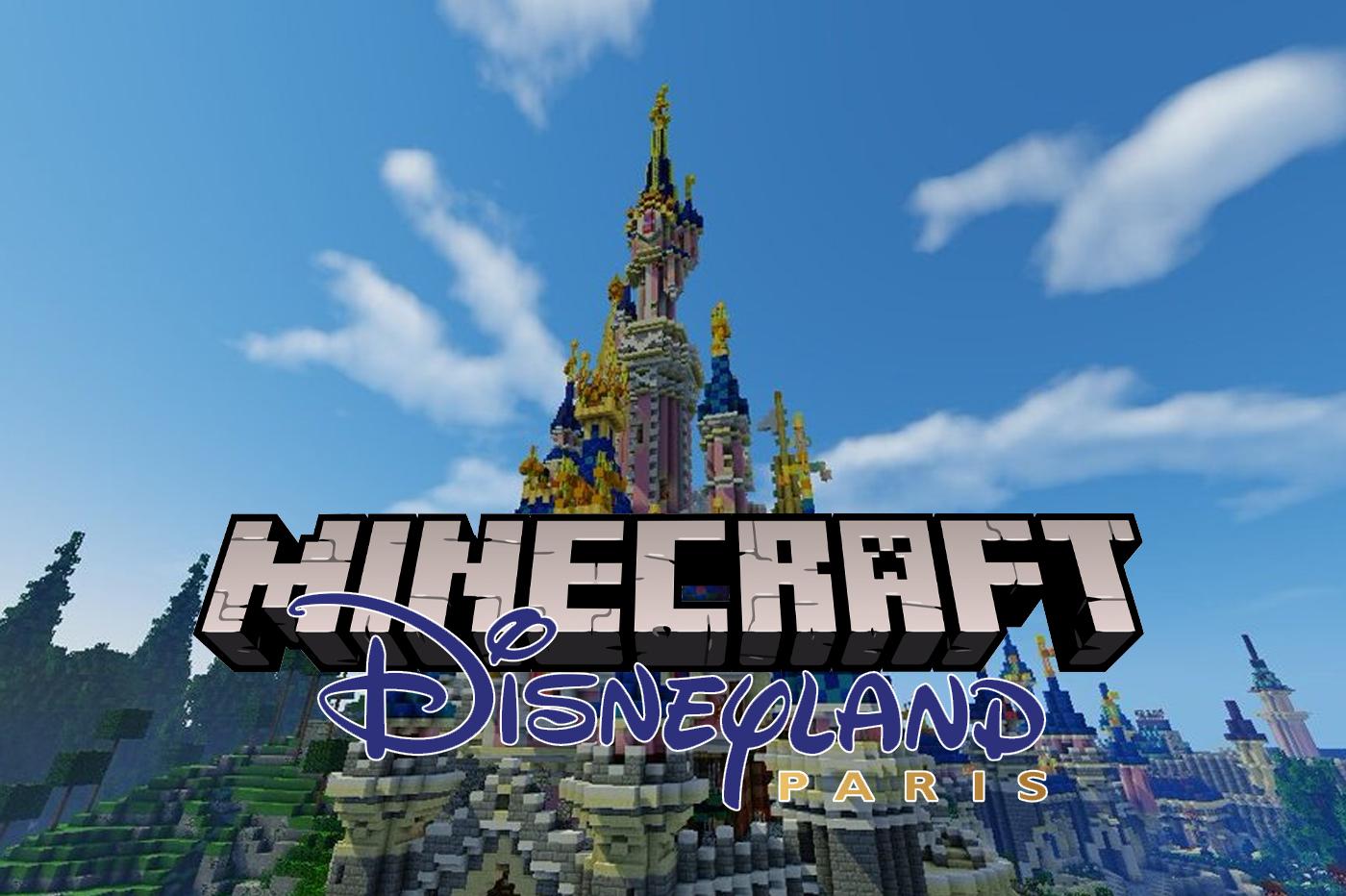 Disneyland Minecraft