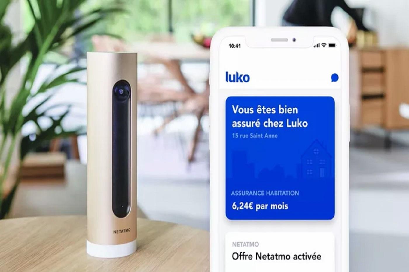 Luko et Netatmo lancent une offre dédiée à la protection de votre domicile