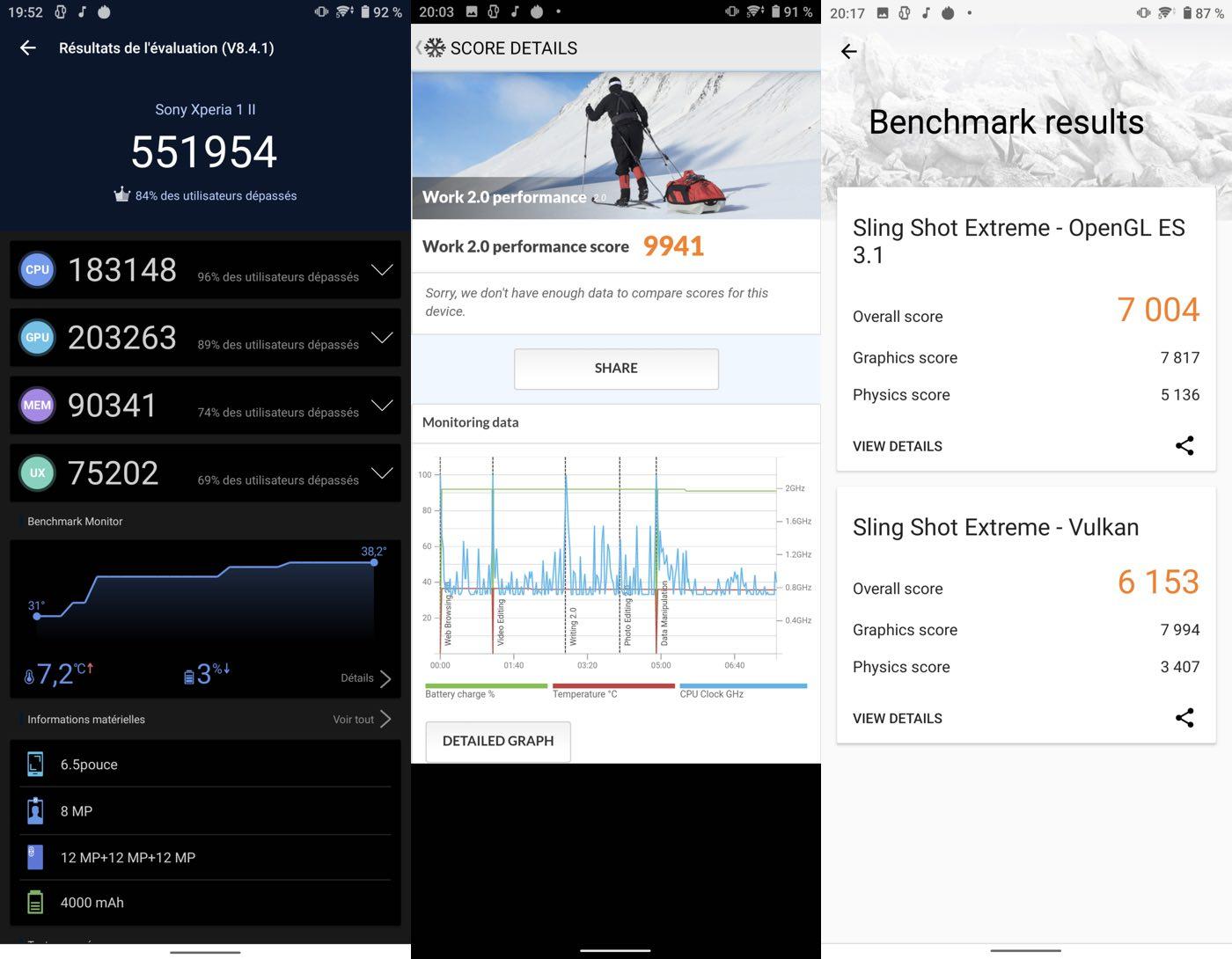 test sony xperia 1 ii benchmarks