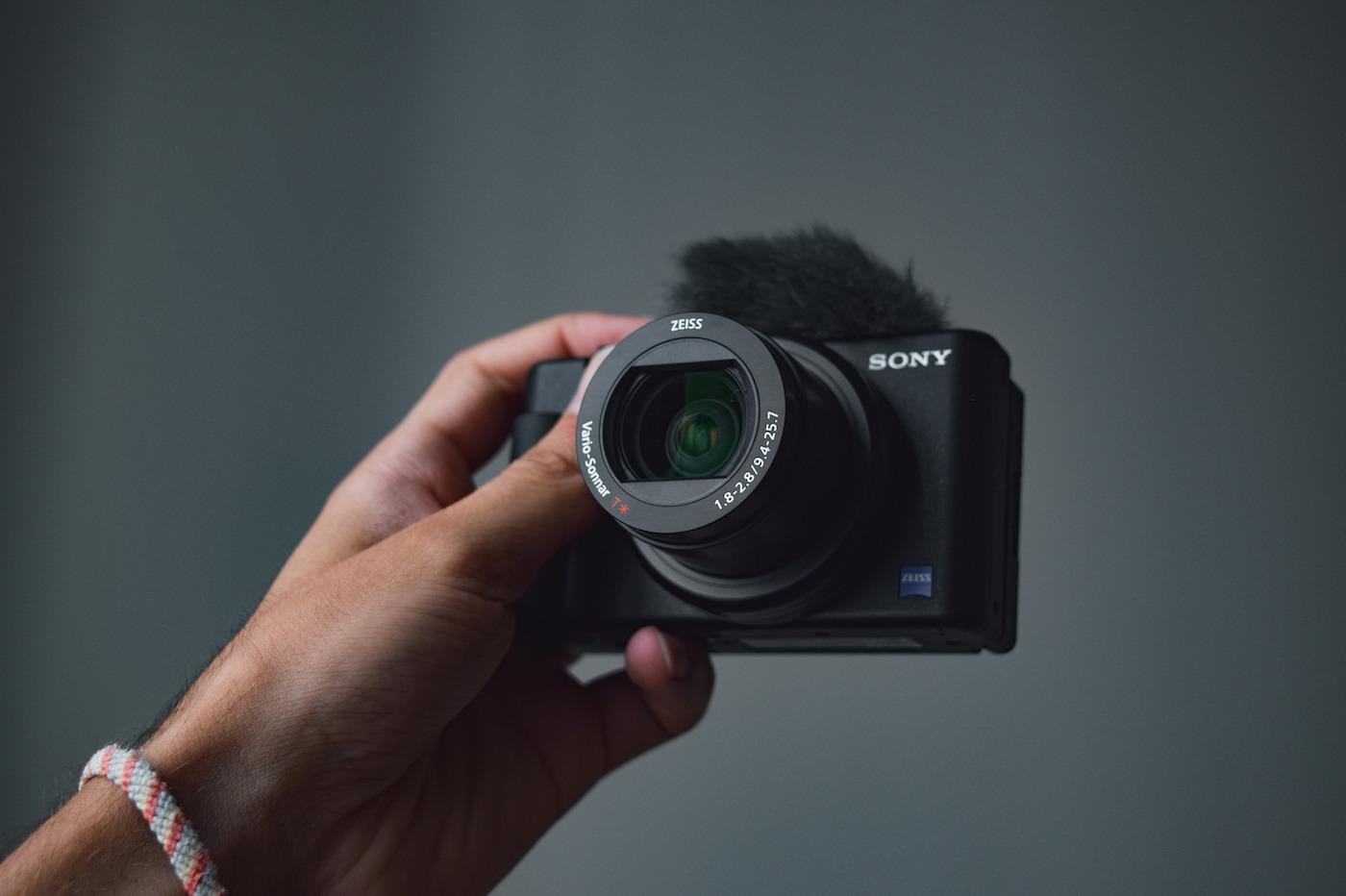 Test Sony ZV 1