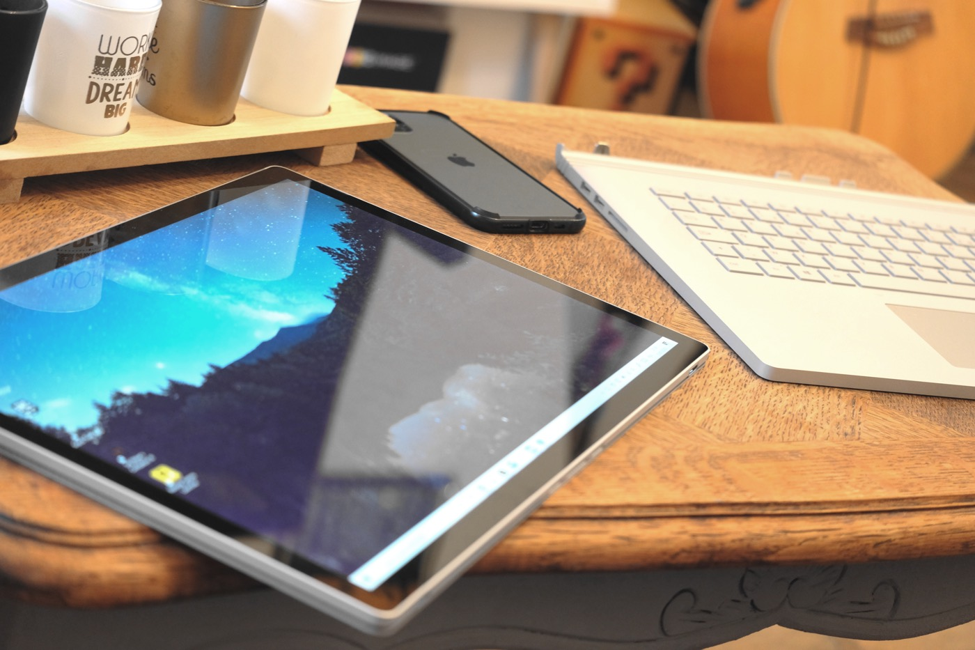 test surface book 3 ecran tablette