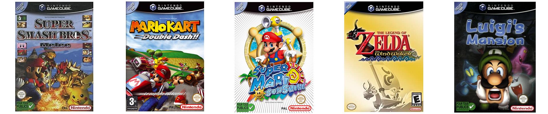 Top 5 Jeux Gamecube