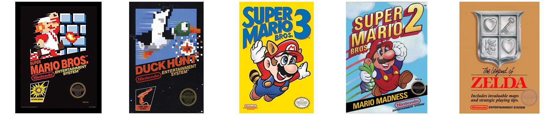 meilleurs jeux Nintendo NES