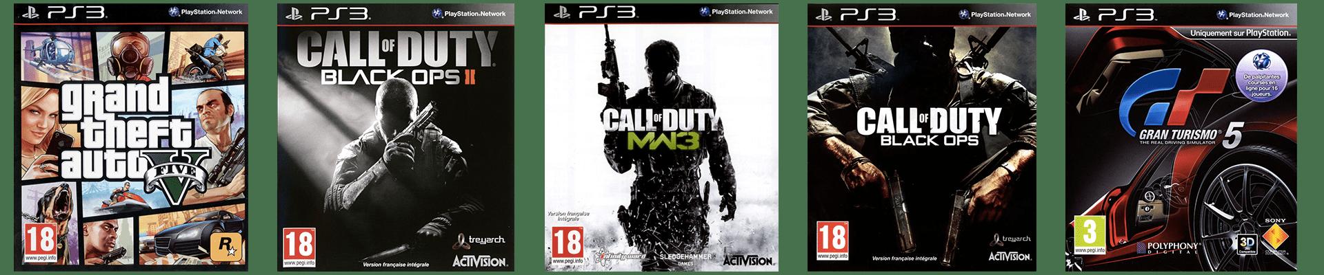 Meilleurs Jeux PS3