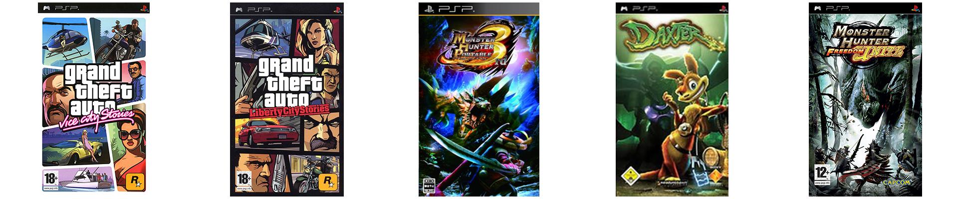 Top 5 Meilleurs Jeux PSP