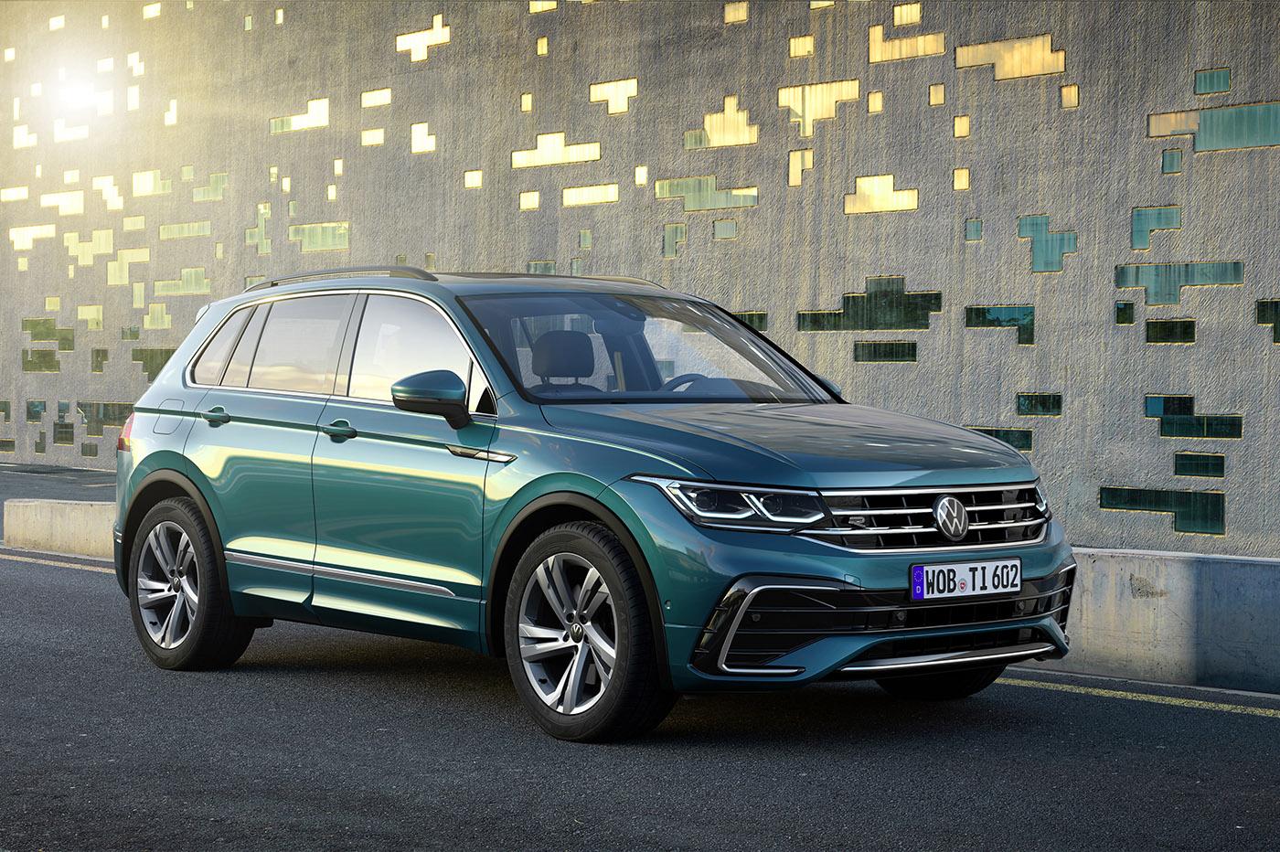 Volkswagen restyle le Tiguan avec une nouvelle version hybride