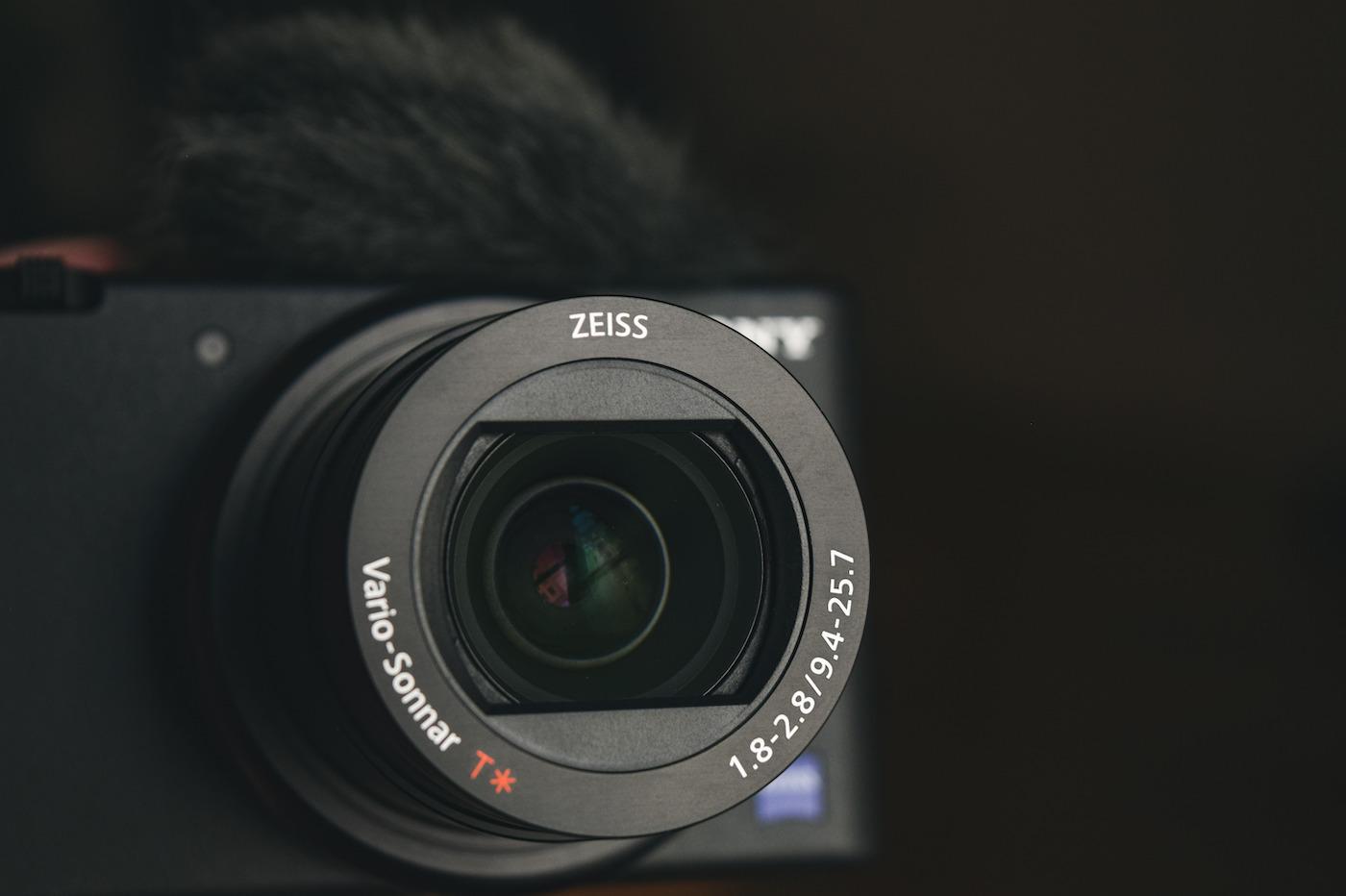 Sony ZV 1 Objectif