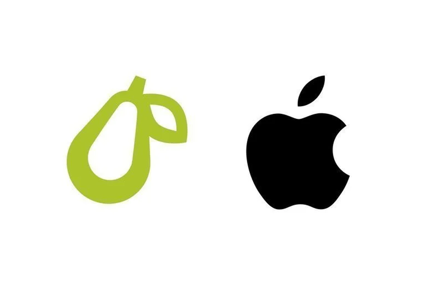 Apple attaque en justice une application dont le logo est une poire