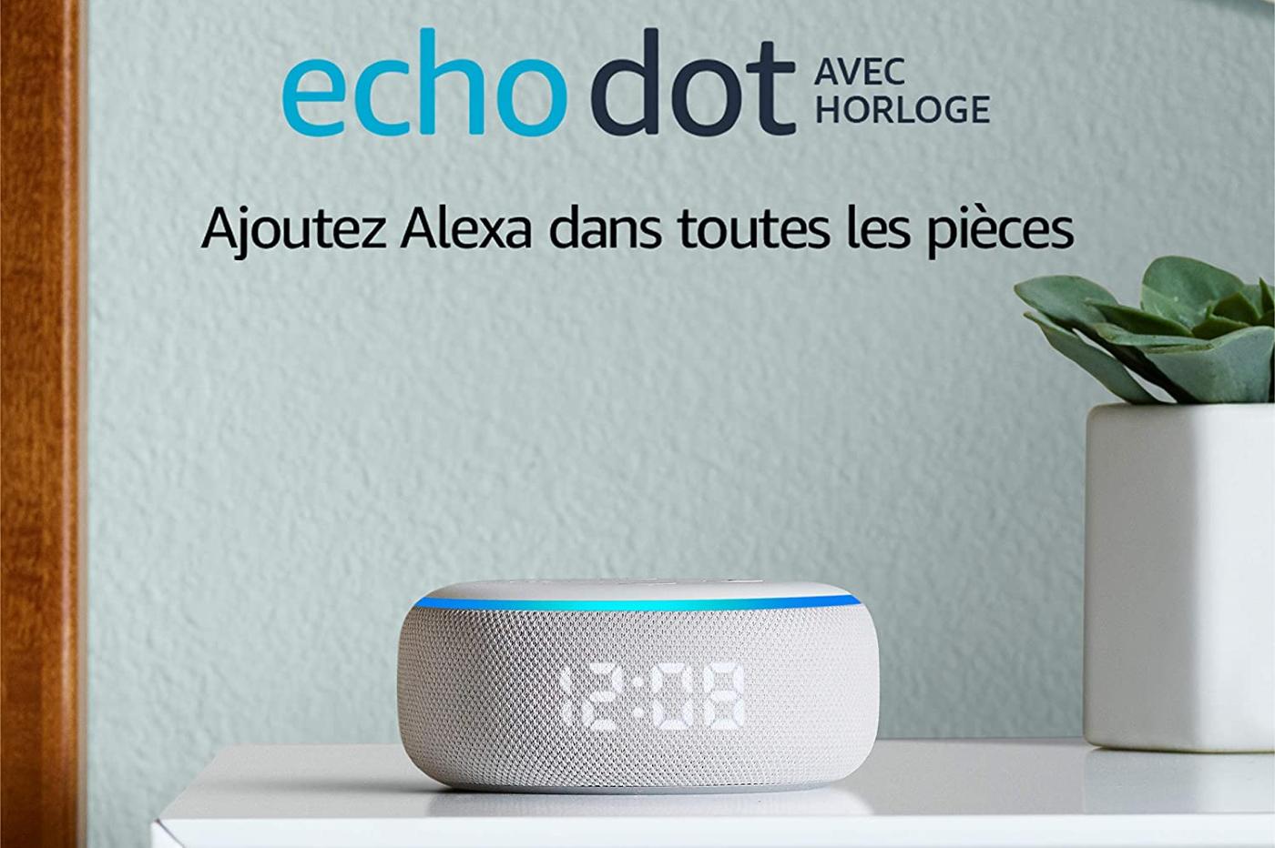EchoDot Horloge