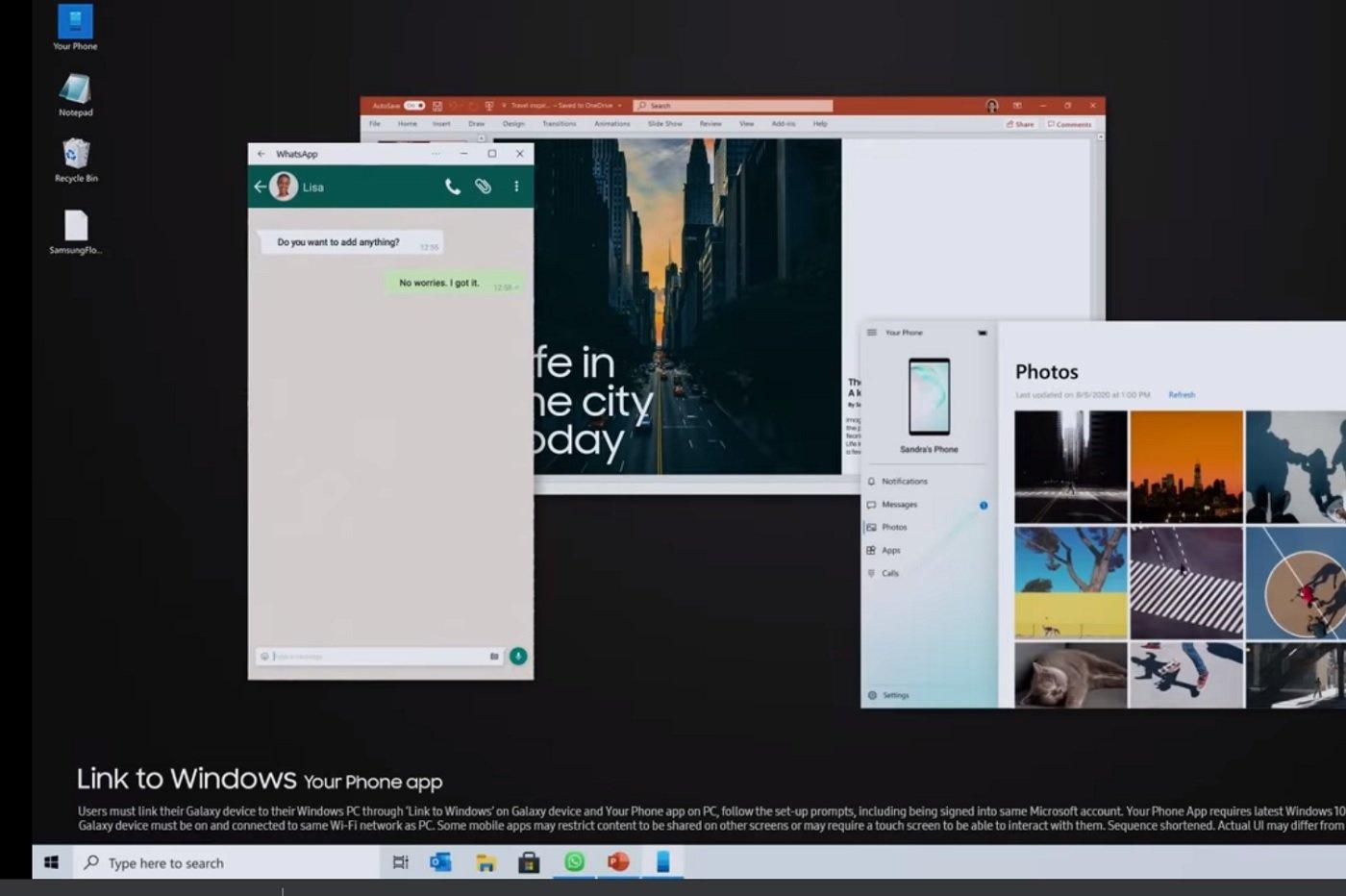 Il sera possible de lancer la version mobile de WhatsApp sur une fenêtre Windows