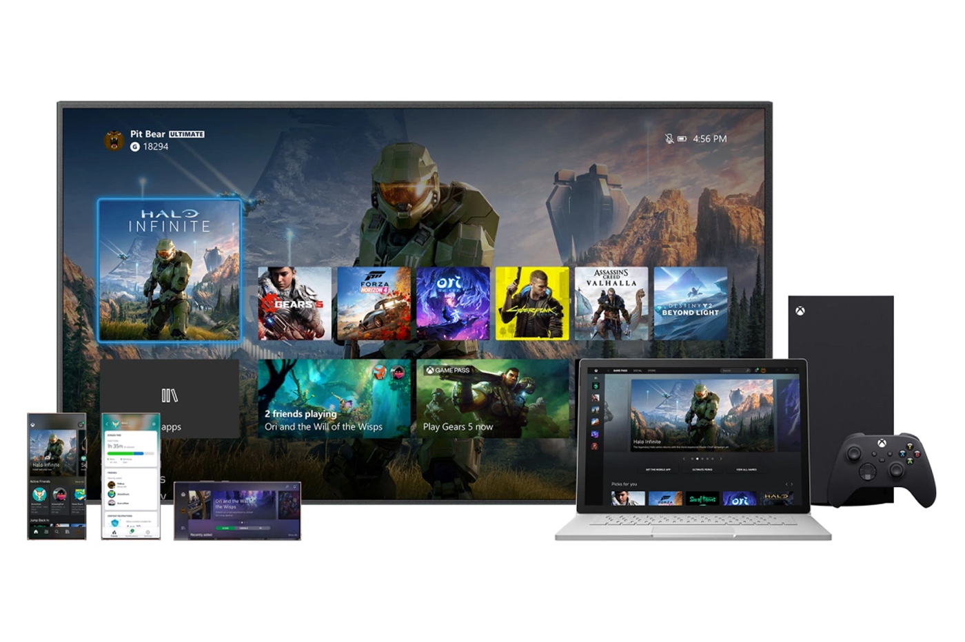 Nouvelle Interface Xbox Series X