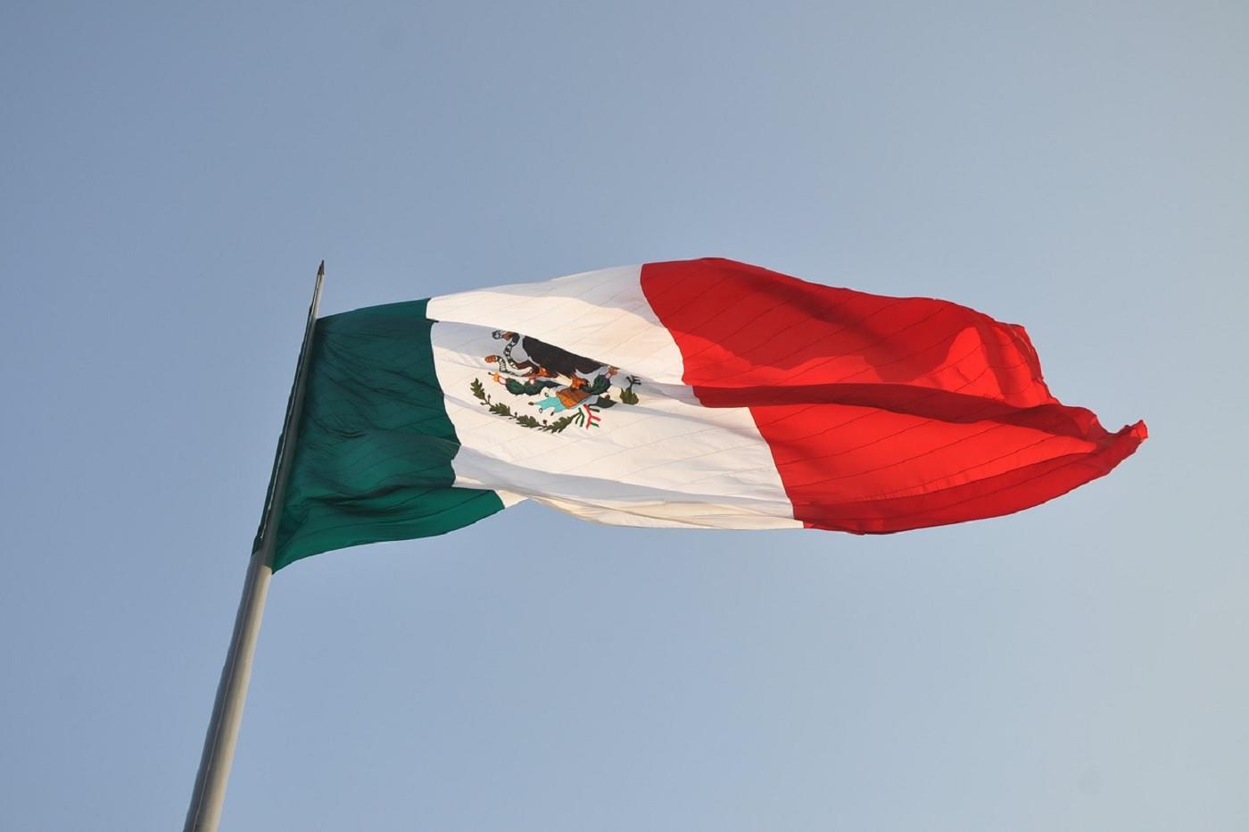Le drapeau du Mexique