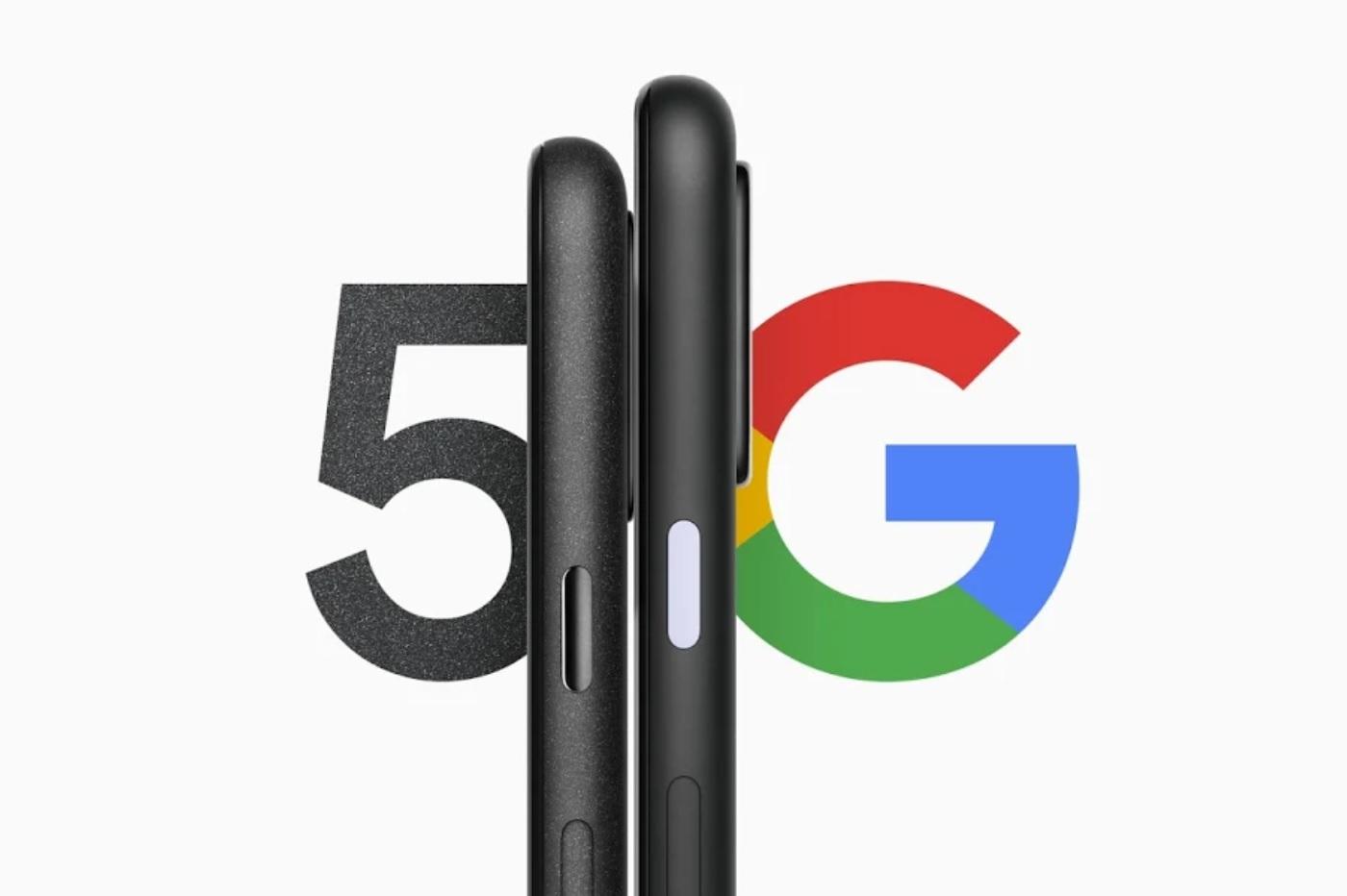Les deux premiers smartphones 5G de Google, le Pixel 4A 5G et le Pixel 5