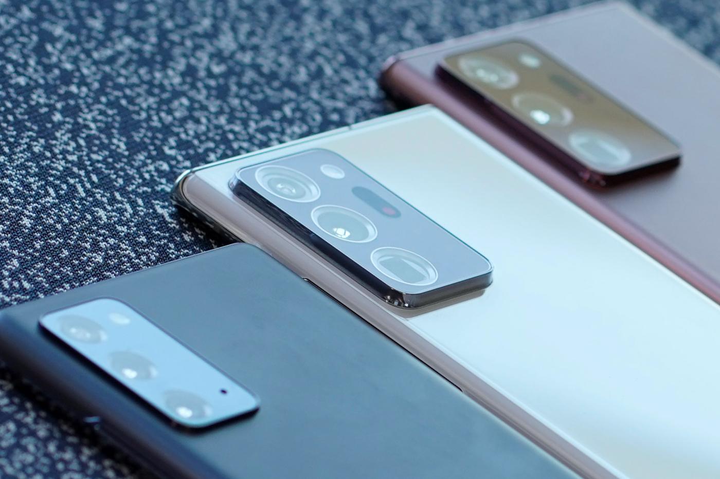 Capteurs Samsung Galaxy Note 20 Ultra