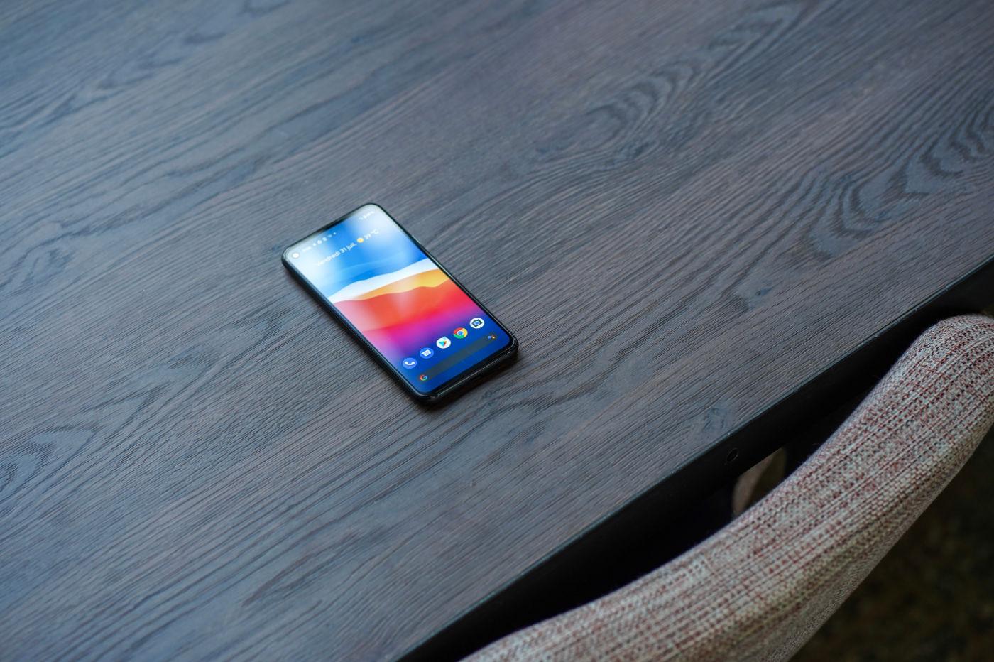 L'écran du Pixel 4a