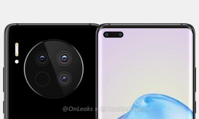 Rendu présumé du Huawei Mate 40