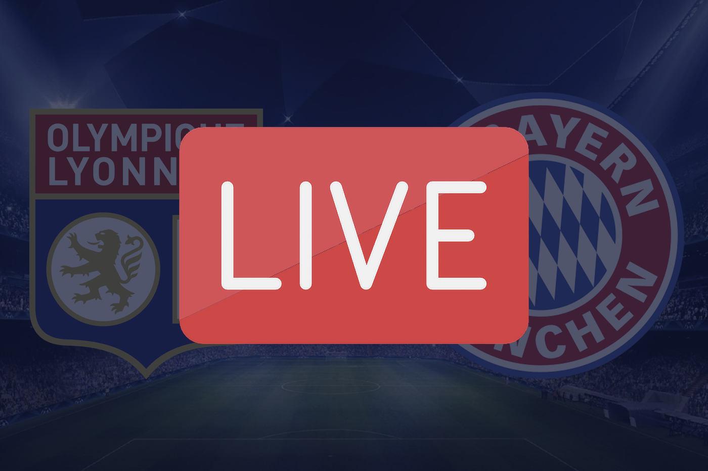 Streaming OL Bayern Ligue des Champions
