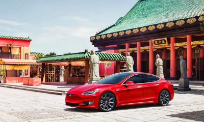 Tesla en Chine