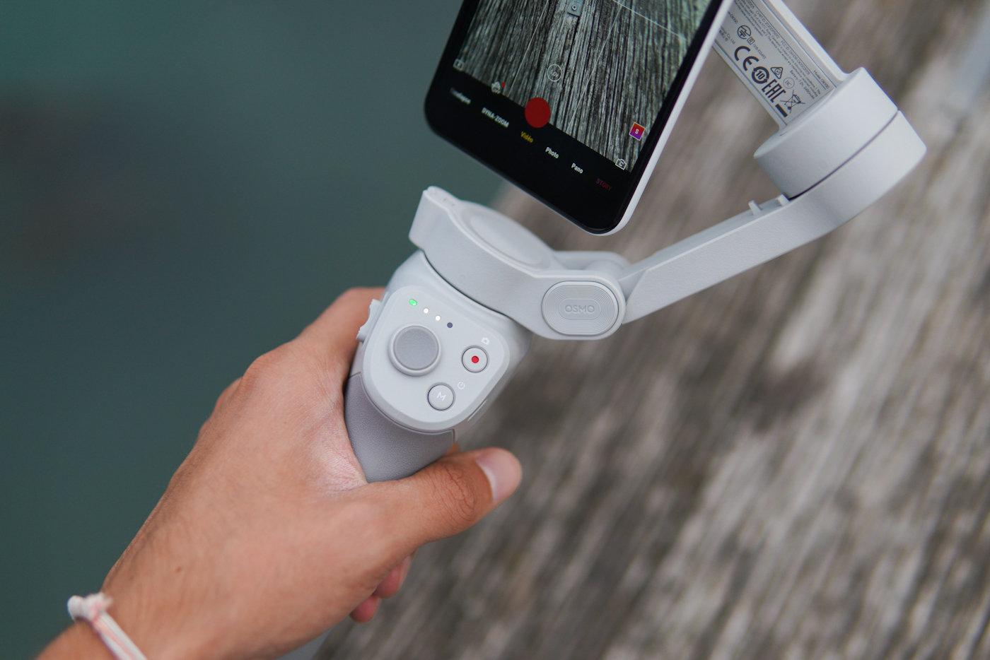 DJI Osmo Mobile 4 boutons