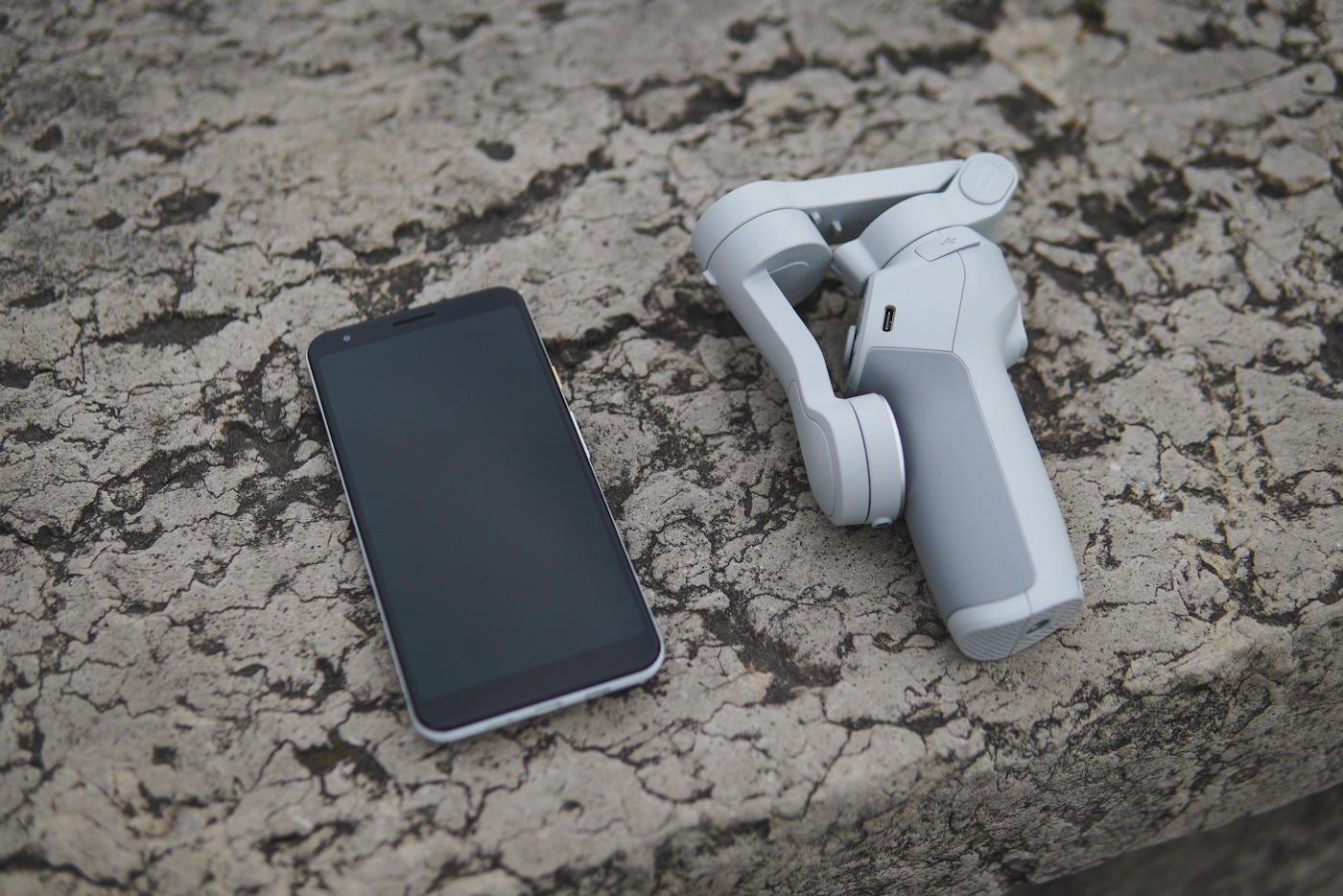 DJI Osmo Mobile 4 test