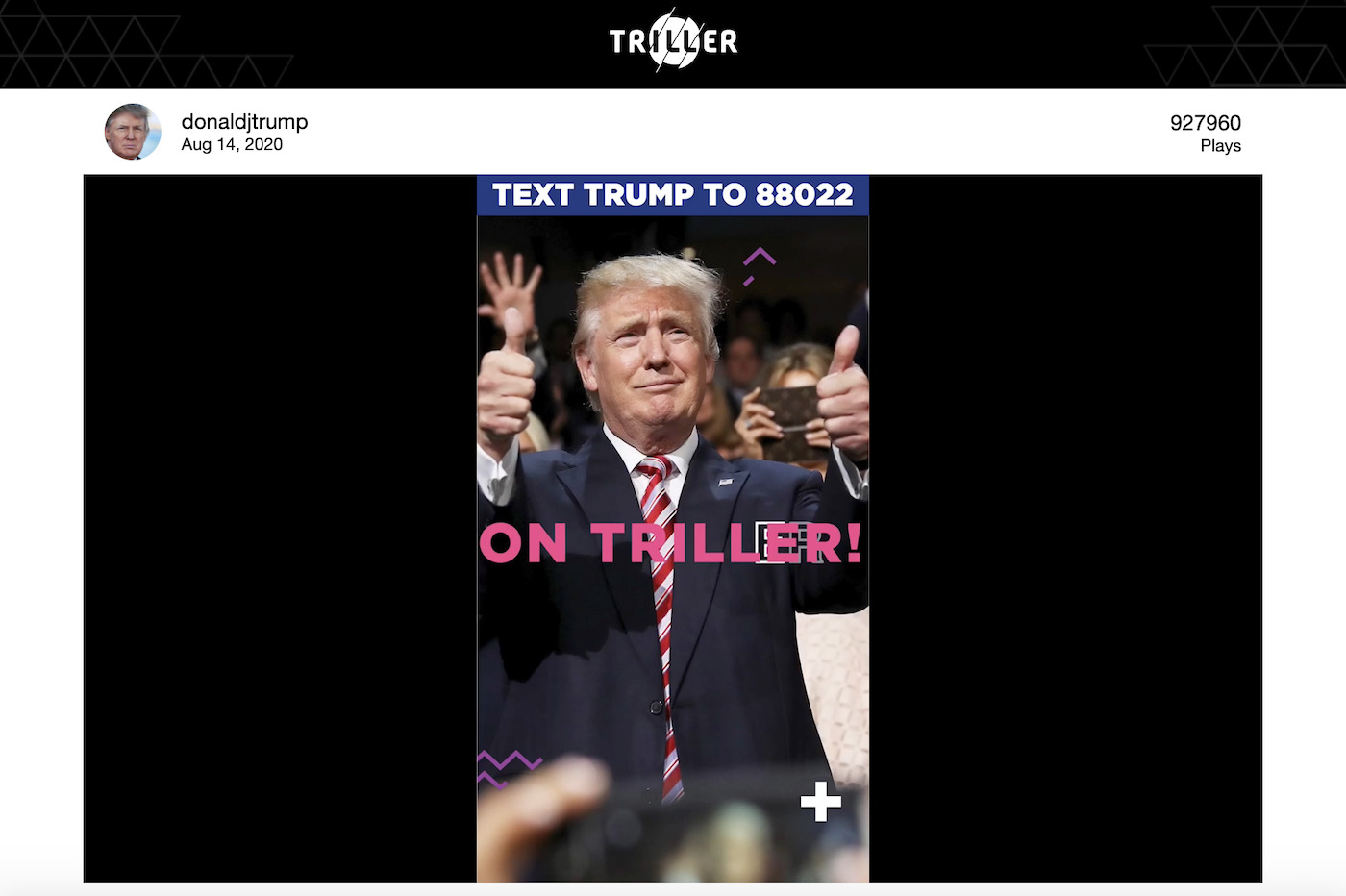 Donald Trump Triller