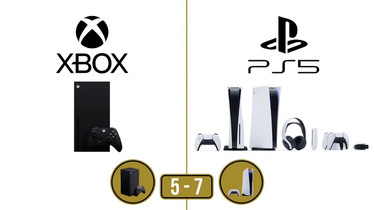 Duel Xbox Series X - PS5