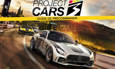 Project Cars 3 Guide de Précommande