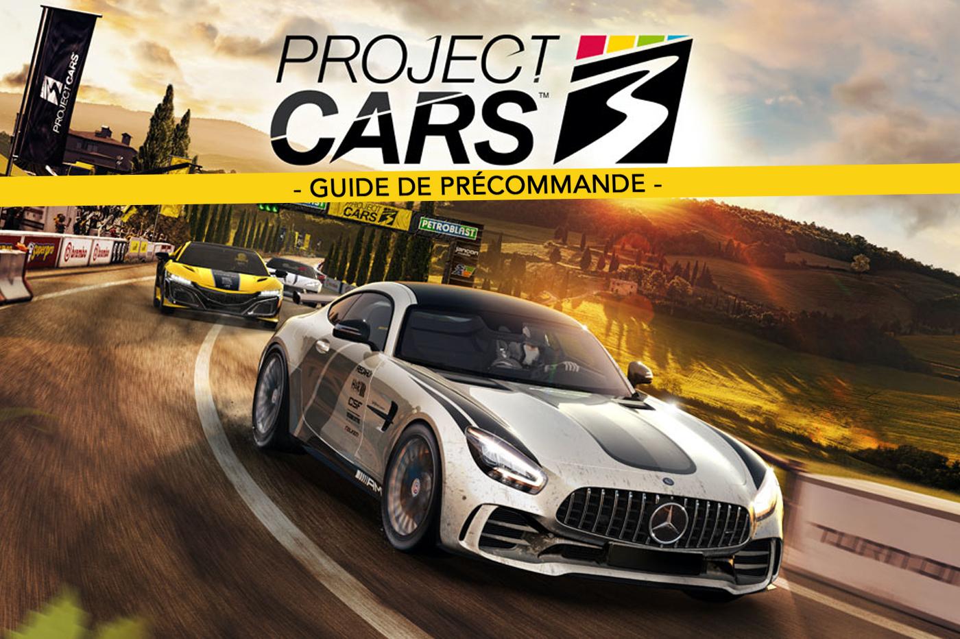Project Cars 3 Guide de Précommande