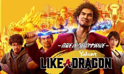 Guide Précommande Yakuza Like A Dragon