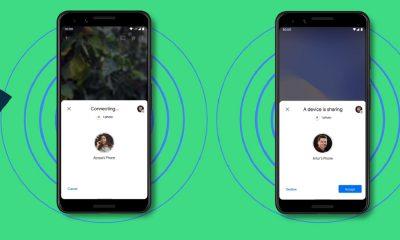 la fonctionnalité Nearby Share sur Android