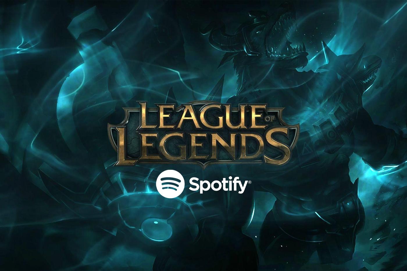 League of Legends partenariat Spotify