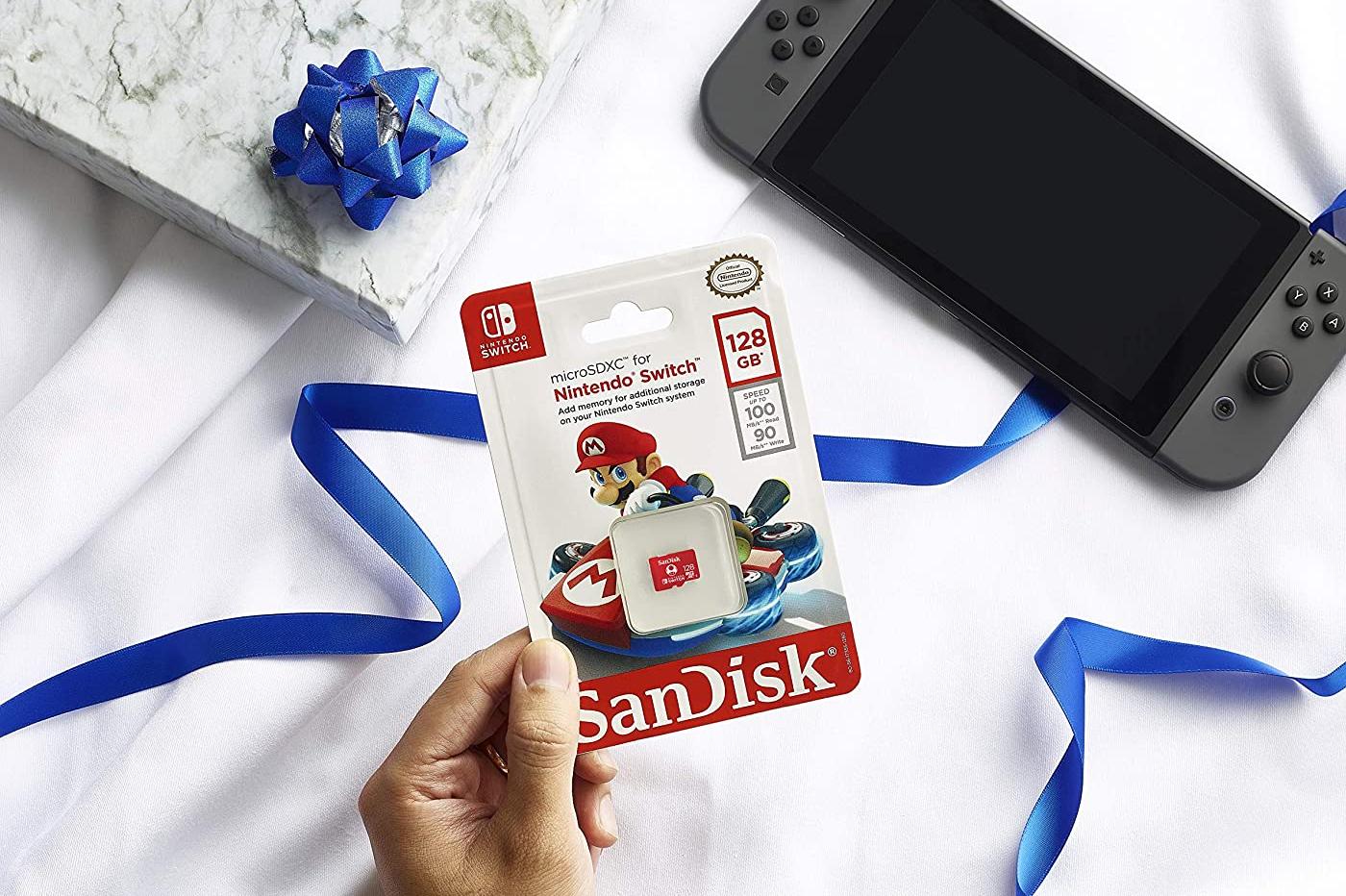 microSD Nintendo Sandisk