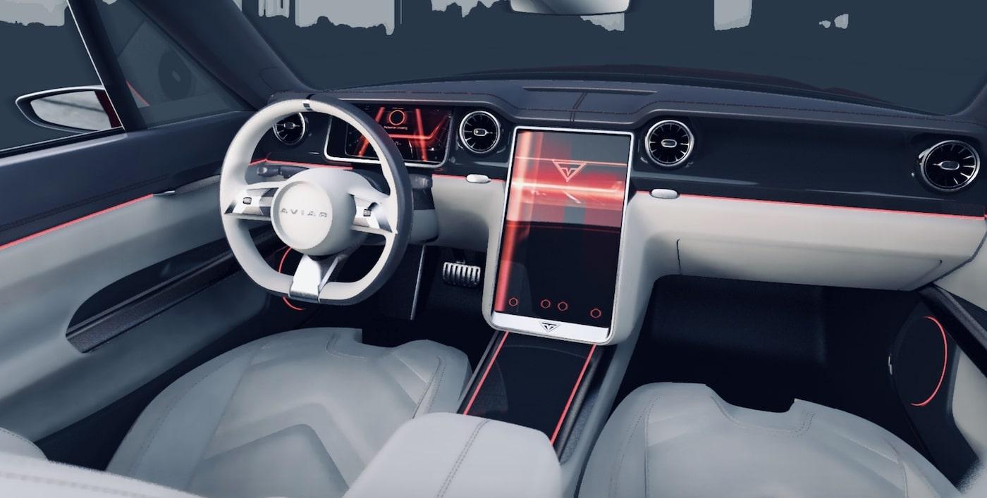 Mustang Tesla