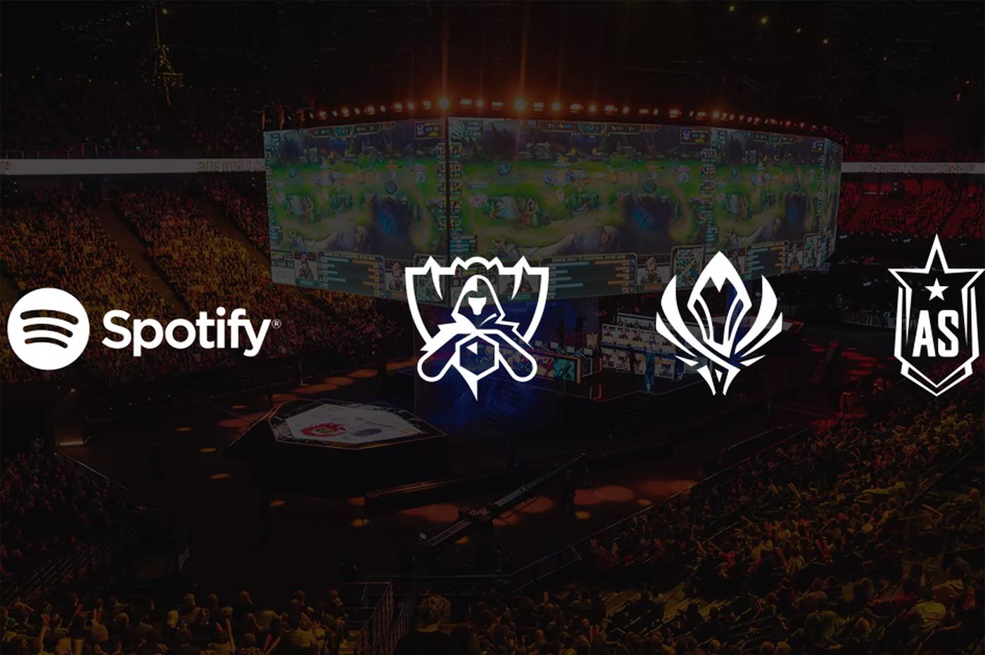 Partenariat League of Legends et Spotify