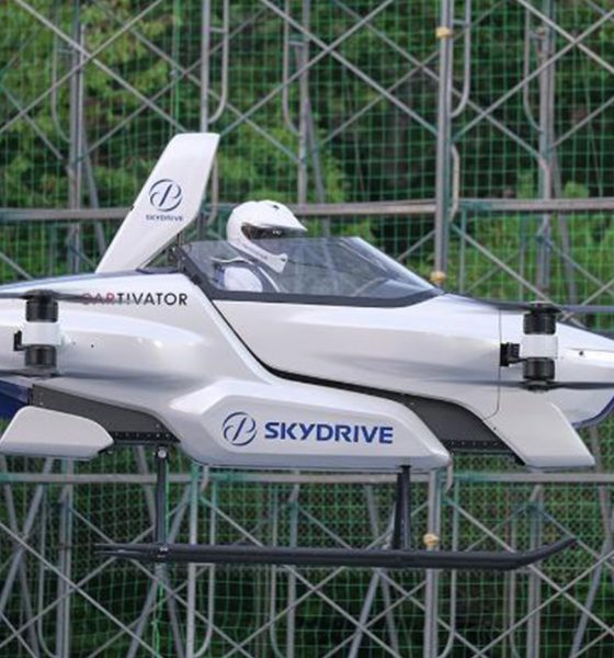 SkyDrive voiture volante
