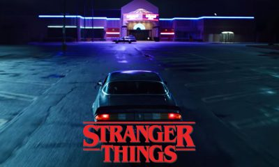 Stranger Things Hawkins Voiture Los angeles