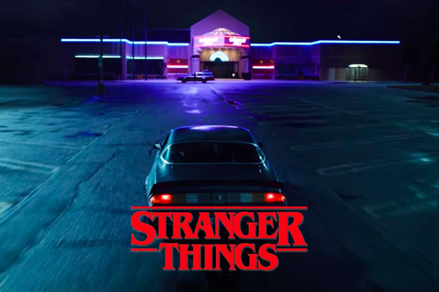 Stranger Things Hawkins Voiture Los angeles