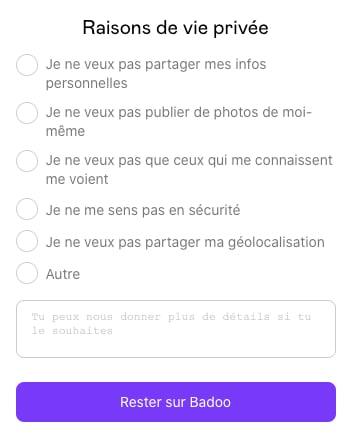 Comment se deconnecter sur badoo mobile
