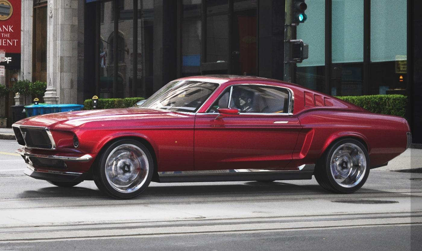 Tesla Mustang