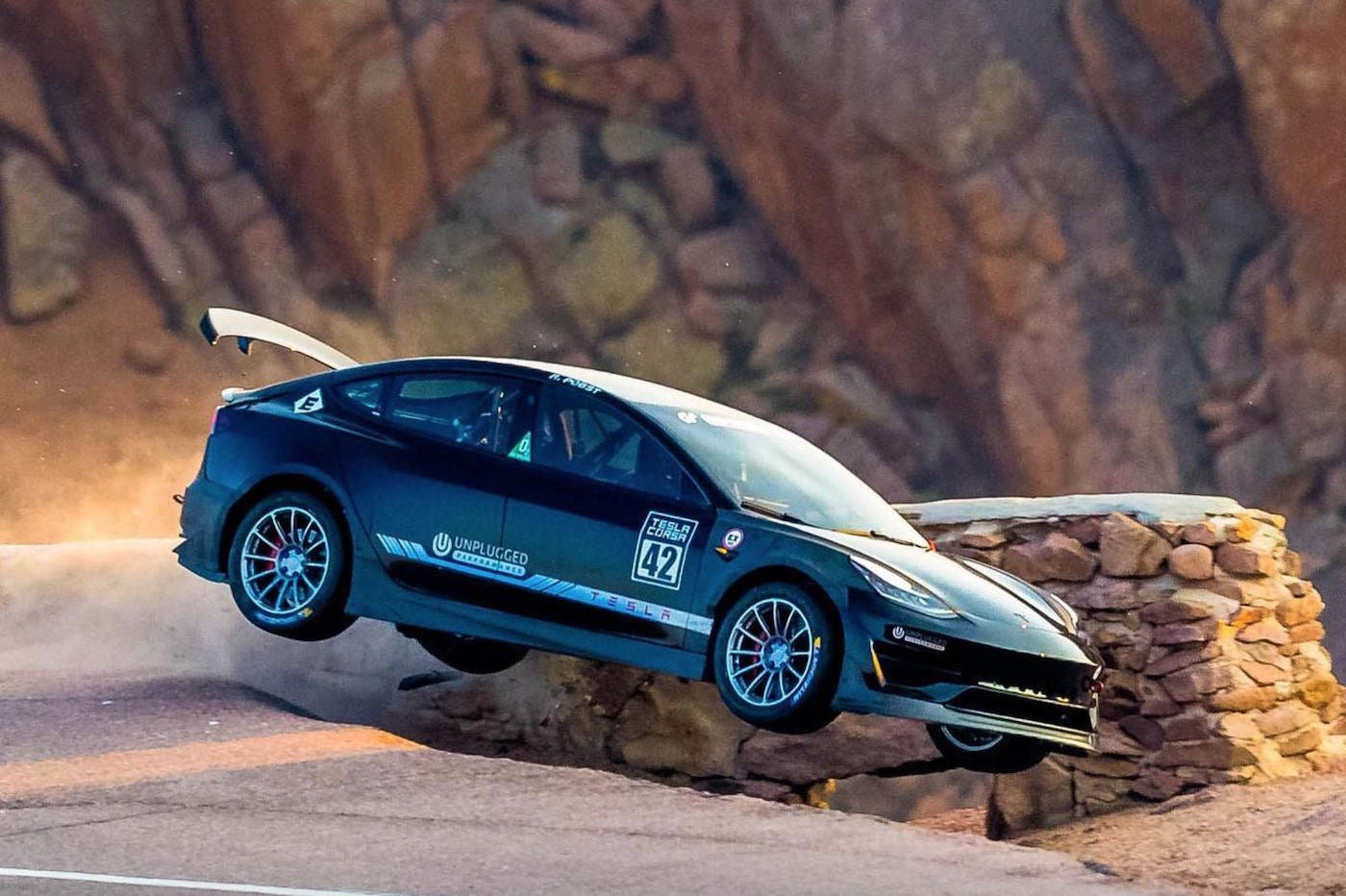 Tesla Model 3 Pikes Peak