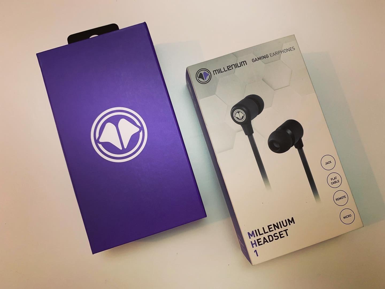 Test Millenium Headset 1 - MH1 - Boîte