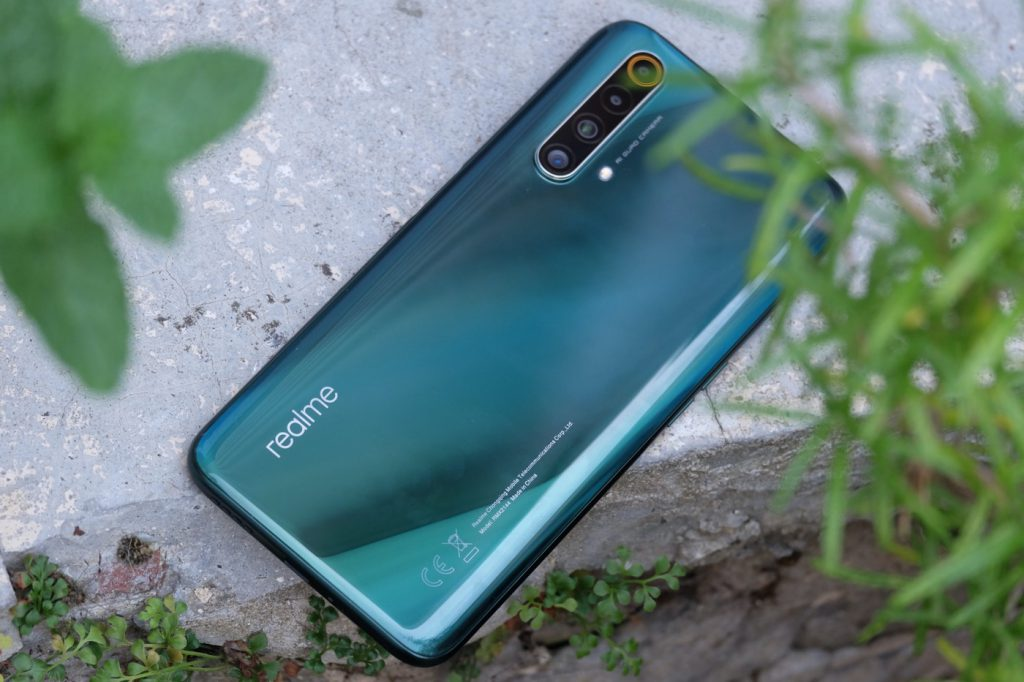test realme x50 5g design dos