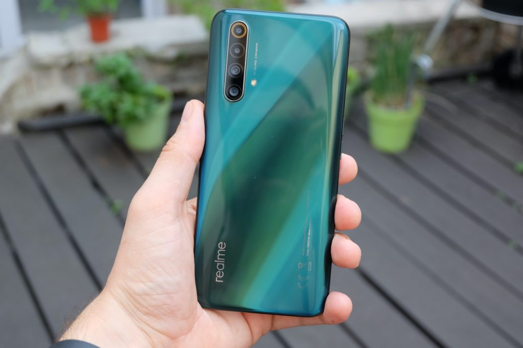 test realme x50 5g format