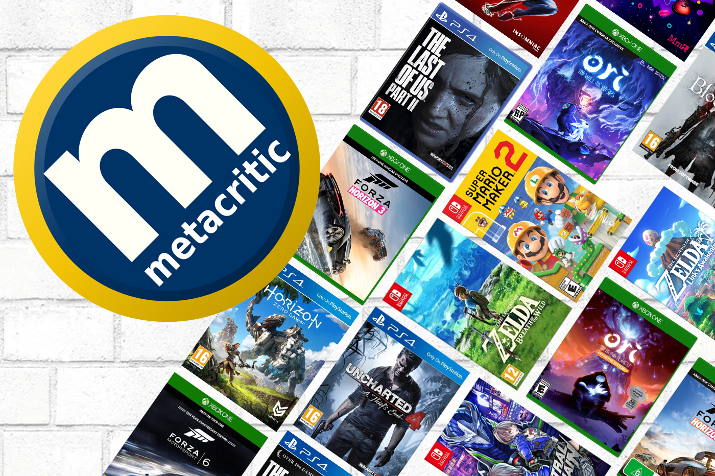 MetaCritic dévoile la liste des 40 meilleurs jeux exclusifs de la génération PS4, Xbox One et Switch (2013-2020)